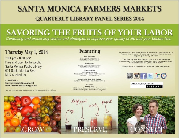 Co-op at Santa Monica Farmers Market Panel